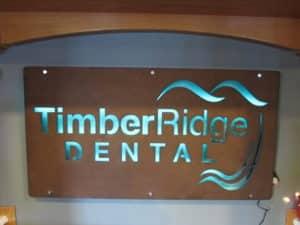 Dentist in Heber City Sign