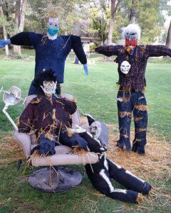 Homestead Scarecrow contest